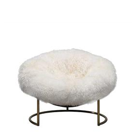 image-Timothy Oulton Sheepskin Cave Chair