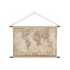 image-World Map Wall Decoration 117x129