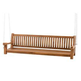 image-Adah Swing Seat Freeport Park Size: 62cm H x 220cm W x 70cm D