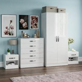 image-Joselyn 4 Piece Bedroom Set Zipcode Design Colour: White