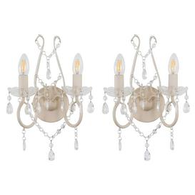 image-Finnigan Twin Arm Candle Wall Light Lily Manor