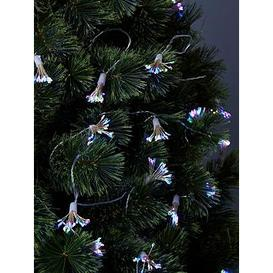 image-Festive Starburst Battery Operated Christmas String Lights &Ndash 5.7 Metre