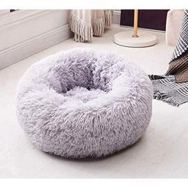 image-Jaiden Bolster Cushion Dog Bed Archie & Oscar Size: 60cm W x 60cm D, Colour: Grey