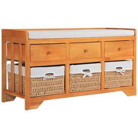 image-Arzola Wood Storage Bench