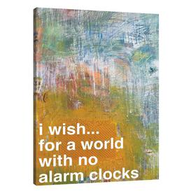 image-'Alarm Clock' by Kent Youngstrom - Wrapped Canvas Graphic Art Print East Urban Home Size: 76 cm H x 51 cm W x 4 cm D
