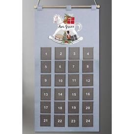 image-Personalised Rocking Horse Advent Calendar