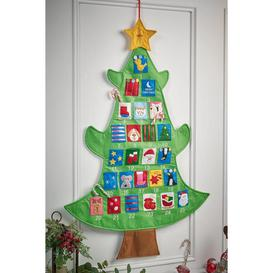 image-Personalised Christmas Tree Advent Calendar