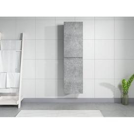 image-Villela 40cm x 150cm Corner Wall Mounted Cabinet Belfry Bathroom Finish: Grey