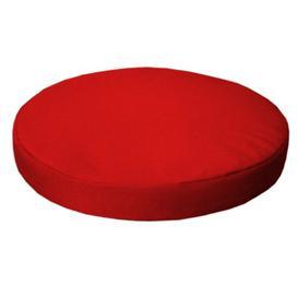 image-Bar Stool Cushion Sol 72 Outdoor Colour: Red, Size: 4cm H x  38cm W x 38cm D