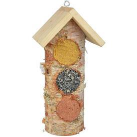 image-Flaxt Tube Bird Feeder Brambly Cottage
