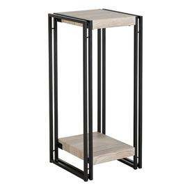image-Warwick Wooden High Plant Stand In Oak
