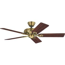 image-107cm Mirmande 5 Blade Ceiling Fan August Grove Colour: Brass Antique