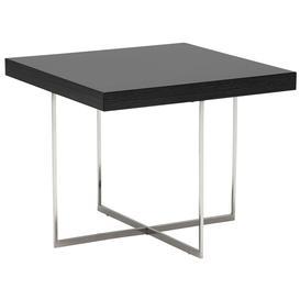 image-Borgia Lamp Table, Grey Highgloss