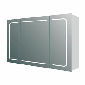 image-Powellsville 86 x 63cm Surface Mounted Mirror Cabinet with LED Lightning