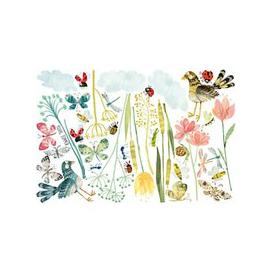 image-Villa Nova Meadow Wall Stickers, Multi, W576/01