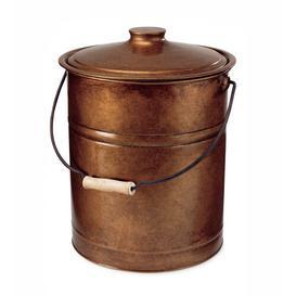 image-Lummus Ash Bucket Steel Fireplace Tool Sol 72 Outdoor Finish: Copper