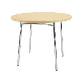 image-Next-Day Dorado Circular Bistro Table, Beech, Free Next Day Delivery