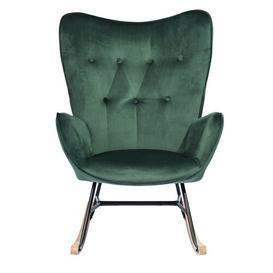 image-Elvis Rocking Chair Hykkon Colour: Green
