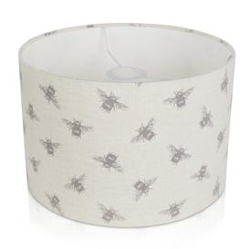 image-Bees Cotton Drum Lamp Shade Brambly Cottage Size: 17.5cm H x 20cm W x 20cm D