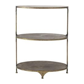 image-Bloomingville - Metal Bar Table - Brass