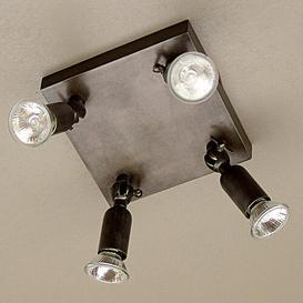 image-Morningside 4 Light Ceiling Spotlight Ebern Designs Finish: Chrome, Size: 14 cm H x 21.5 cm W x 21.5 cm D