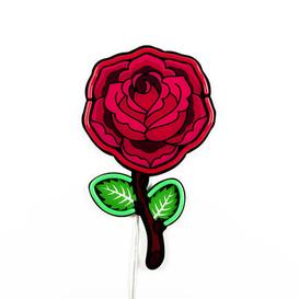 image-Néon Rose Wall light with plug - / LED - H 55 cm / Acrylic by Seletti Pink,Red,Brown,Green
