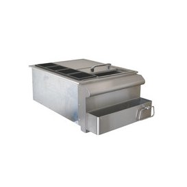 image-Beefeater Stainless Steel Build-in Outdoor Kitchen Small Bar Centre 45.7cm