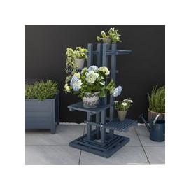 image-Galaxy Plant Stand with 4 Shelves