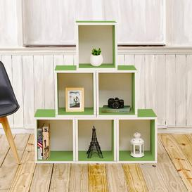 image-65cm Bookcase Symple Stuff Finish: Green