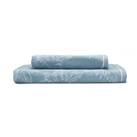 image-Heavenly Hummingbird Blue Towel Blue