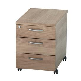 image-Colette 3-Drawer Mobile Lockable Filing Cabinet Zipcode Design