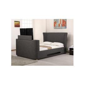 image-Artisan Audio 5FT Kingsize TV Bed,Grey