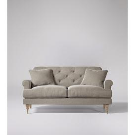 image-Swoon Sidbury Two-Seater Sofa in Llama Smart Wool With Light Feet