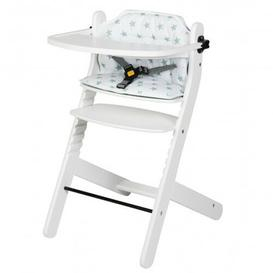 image-Best High Chair with Foot Plate Schardt Colour: Lacquered white