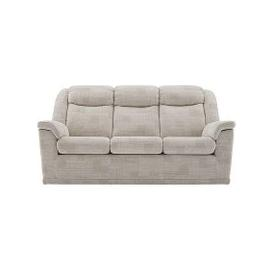 image-G Plan - Milton 3 Seater Fabric Power Recliner Sofa