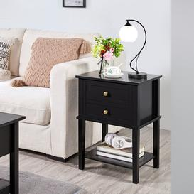image-Madisen Side Table with Storage