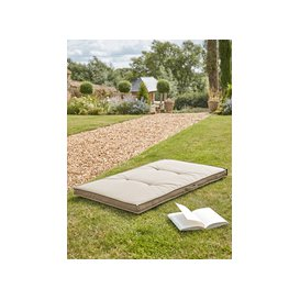 image-NEW Indoor Outdoor Floor Cushion - Taupe