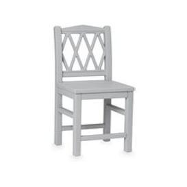 image-Cam Cam Copenhagen Harlequin Kids Chair - Grey