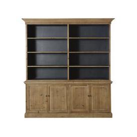 image-Recycled Pine 4-Door 6-Shelf Dresser Spinoza