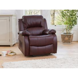 image-Morganna Lonsdale Electric Recliner Ebern Designs Upholstery Colour: Burgundy