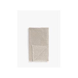 image-John Lewis & Partners Chain Stitch Throw