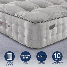 image-Pocketo 4000 Pocket Sprung Mattress Grey