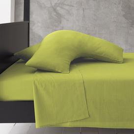 image-Priscilla V-Shape Pillowcase Zipcode Design Colour: Lime Green