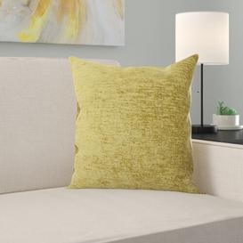image-March Scatter Cushion Ebern Designs Size: 43 x 43cm, Colour: Lime