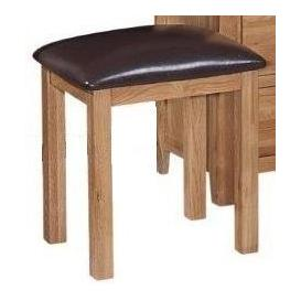 image-Mini Canterbury Oak Furniture Dressing Table Stool Only