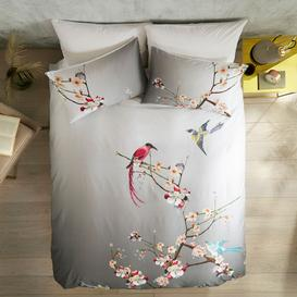 image-Ted Baker Flight of the Orient Cotton Bedding, Grey
