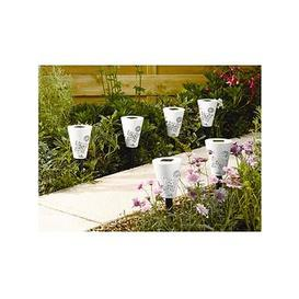 image-Smart Solar Silhouette Butterfly Stake Lights (6 Pack)