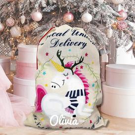 image-Unicorn Christmas Sack