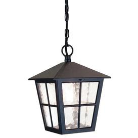image-Elstead BL48M Canterbury exterior black hanging porch lantern, IP20