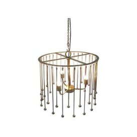 image-Helios Gold Chandelier - Culinary Concepts